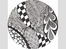 Zentangle Patterns For Beginners Zentangle patterns Zen
