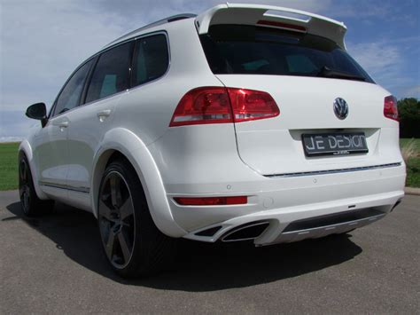 Vw Touareg 7 Passenger by Vw Touareg 7p Widebody Styled By Je Design