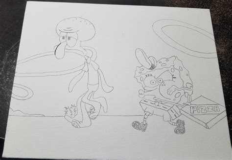 Coloring Pages Of Spongebob