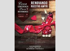 Cena conferencia para Matrimonios Renovando nuestro amor