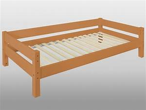 Bett Holz 90x200 : yogi einzelbett jugendbett kinderbett bett buche massiv massivholz lackiert ~ Markanthonyermac.com Haus und Dekorationen