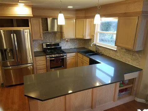 quartz kitchen quartz kitchen gallery quartz countertops o fallon st charles mo