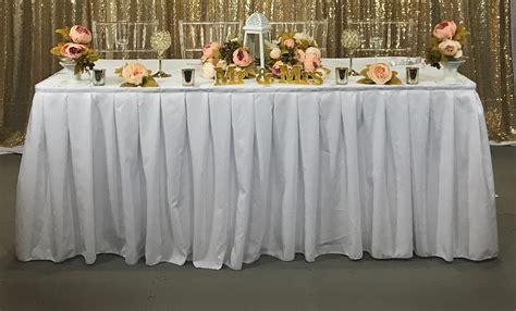 drape table pipe drape