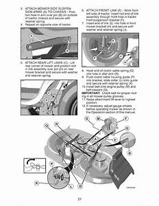 Page 21 Of Craftsman Lawn Mower Yt 3000 User Guide