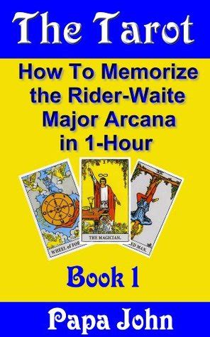 tarot   memorize  rider waite major arcana