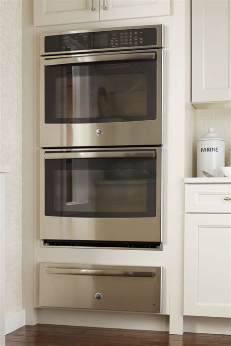 double wall oven cabinet double oven cabinet with warming drawer cabinetry