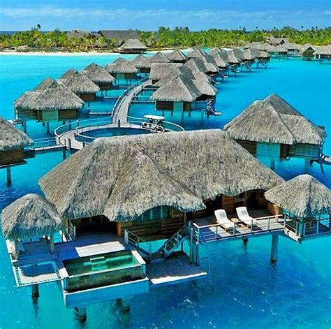 Luxury Suite At The Four Seasons Bora Bora