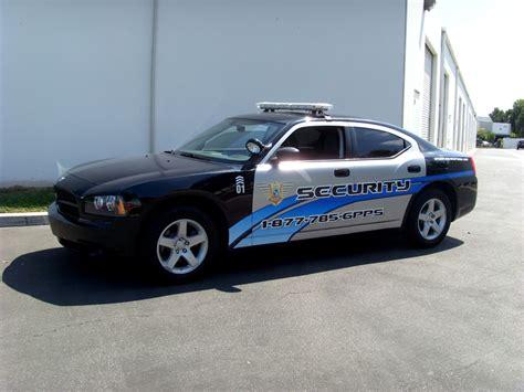 patrol car partial wrap orange county