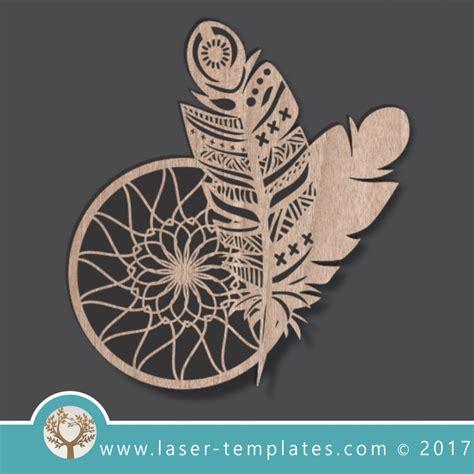 laser cut dream catcher templates