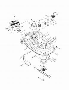 42 U0026quot  Cutting Deck Diagram  U0026 Parts List For Model