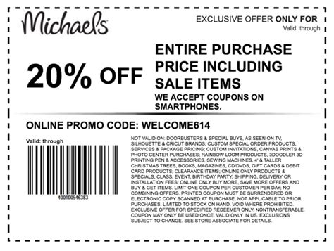 Michaels Coupons: 50% Off Coupons & Codes October 2020 ...