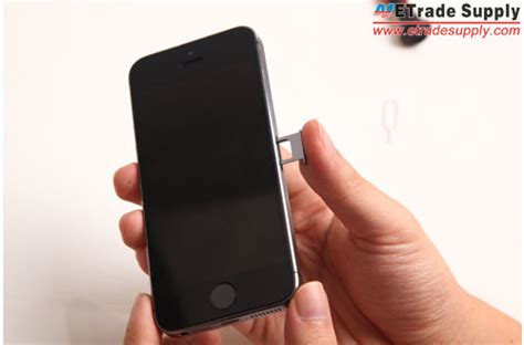 how to insert sim card in iphone 5 how to assemble the iphone 5s for damaged 5s parts repair