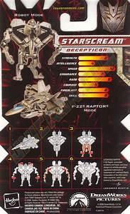 Transformers 2 Revenge of the Fallen Legends Starscream ...