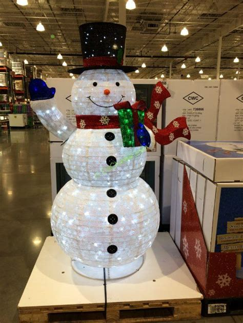 snowman at costco christmas decore