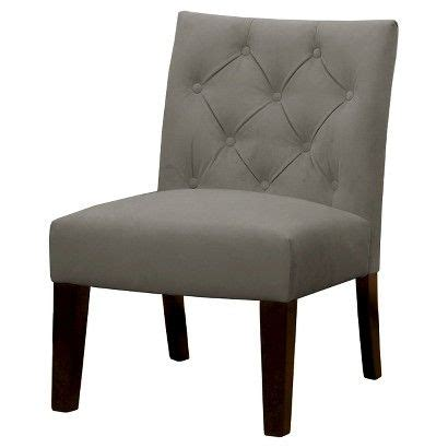Burke Slipper Chair With Buttons by Threshold Geneva Tufted Slipper Chair Target New