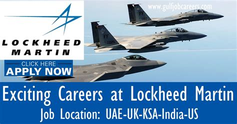 Lockheed Martin Career Opportunities exciting career opportunities at lockheed martin uae uk ksa india us