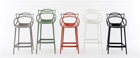 chaises de bureau chaise de bar masters h 65 cm polypropylène vert sauge