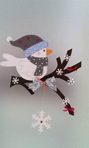 Basteln Winter Kinder : fensterbild vogel auf dem zweig winter weihnachten dekoration tonkarton basteln ~ Frokenaadalensverden.com Haus und Dekorationen
