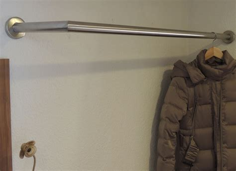 Garderobenstange L Form garderoben edelstahldesign