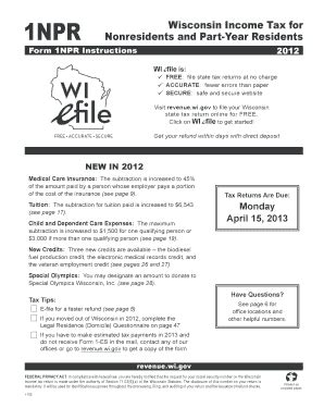 wisconsin 2014 1npr fill printable fillable