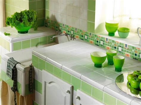 green backsplash kitchen mosaic tile backsplash hgtv 1347