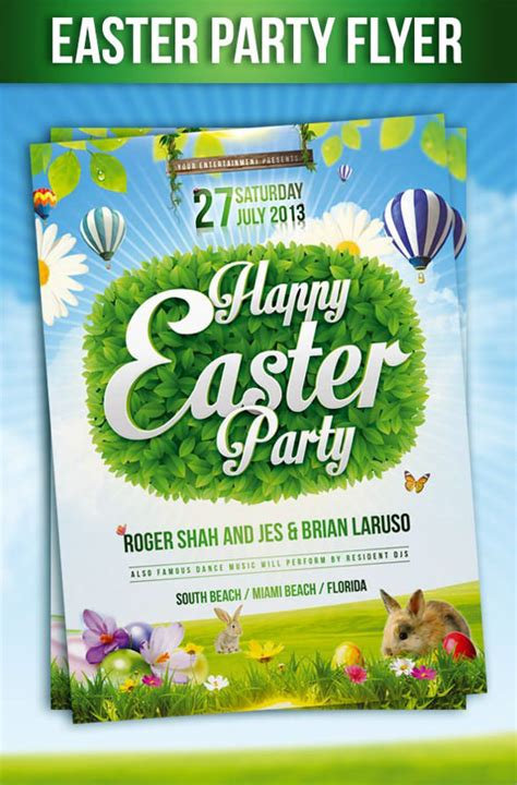 easter flyer template 28 easter flyer templates to sle templates