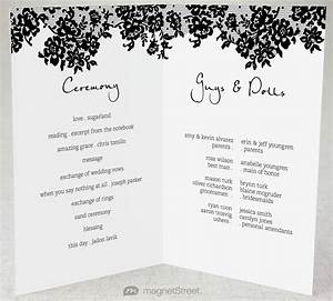 folded wedding program template mini bridal With 2 fold wedding invitation template