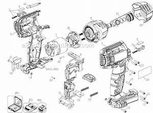 Porter Cable Pcck640lb Parts List And Diagram