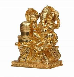 Buy Ganesha Worshiping Shivalinga Idol Online Shopping ...