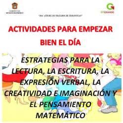 actividades para empezar bien el d 237 a estrategias variadas educativas material educativo