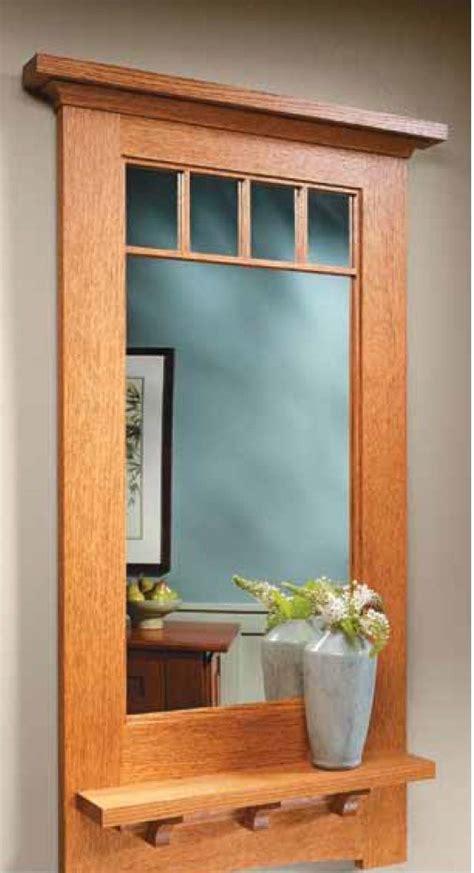 craftsman style wall mirror woodsmith plans pinterest style craftsman craftsman style