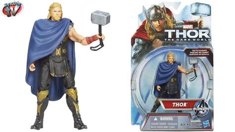 thor the dark world battle hammer thor figure toy review hasbro youtube