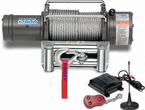 Ramsey 109196 Patriot Profile 12000 Winch With Wireless