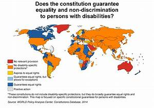 Putting Fundamental Rights Of Persons With Disabilities On The Map