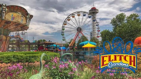 roller coasters  elitch gardens youtube