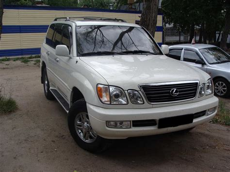 2002 Lexus Lx470 Pics Gasoline Automatic For Sale