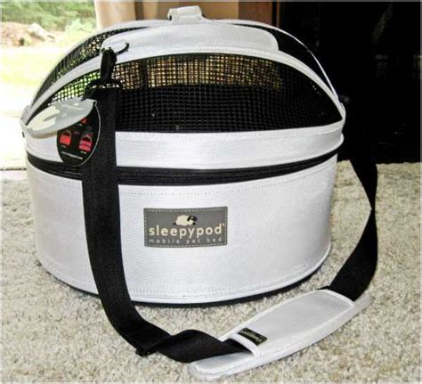 the sleepypod mobile pet bed fido friendly product review
