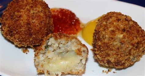 boudin balls stuffed  pepper jack cheese