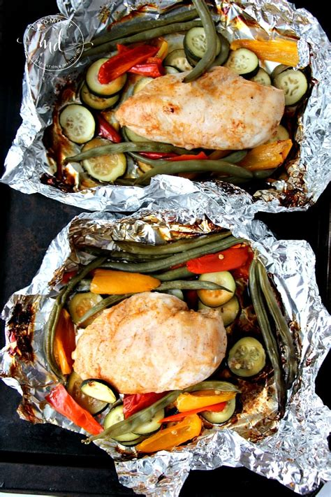 foil pack recipes grilled bbq foil packet chicken