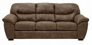 jackson grant bonded leather sofa silt jf 4453 03 silt With jackson leather sectional sofa