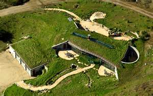 Earth Home Sheltered Underground House