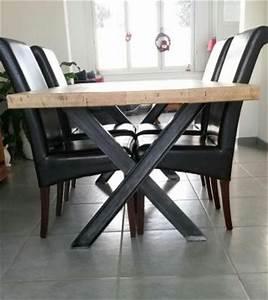 Pied De Table En Acier : pied de table en acier technicoupe plus ~ Teatrodelosmanantiales.com Idées de Décoration