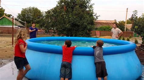 Swimming Pool Tricks!! Youtube