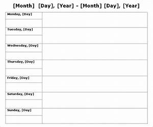 calendar by week template driverlayer search engine With does word have a calendar template