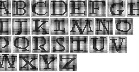 wandering interrobang nerdy knits potter alphabet  knitting