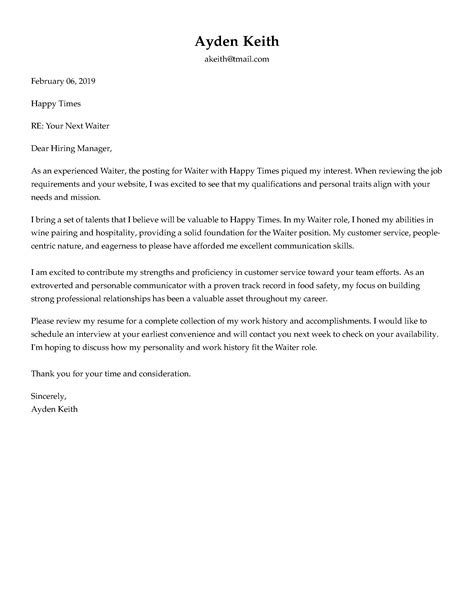 cover letter formats formatting advice   win