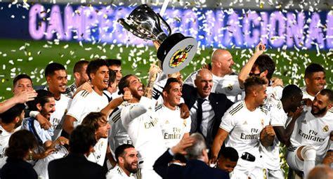 Champions: Real Madrid Win 34th La Liga Title - Society Watch