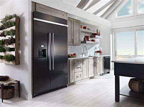Kitchenaid Refrigerator Built In by Built In Side By Side Refrigerators Kitchenaid Kitchenaid