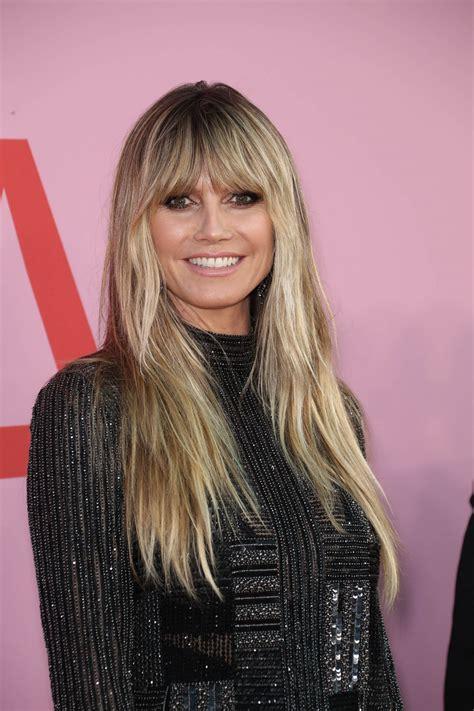 Heidi Klum Cfda Fashion Awards New York