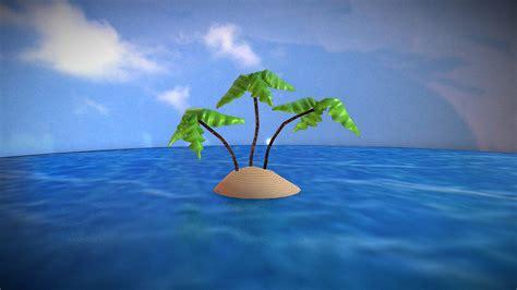 island spongebob    model  anthony